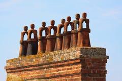 figures terrakotta Royaltyfria Bilder