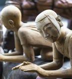 figures trä Arkivbild