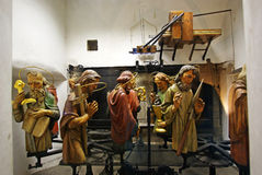 The figures of the twelve apostles Royalty Free Stock Photo
