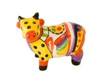 Figurilla de la vaca Fotografía de archivo libre de regalías