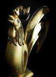 Figurilla de un gallo Imagenes de archivo