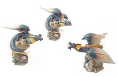 Figurilla del dragón Fotografía de archivo