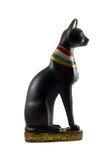 Figurilla del gato egipcio fotos de archivo