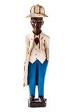 Figurilla del hombre negro imagen de archivo libre de regalías