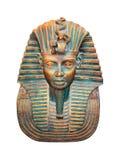 Figurilla egipcia del pharaoh aislada en blanco fotos de archivo libres de regalías