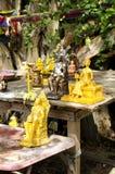 Figurillas de la familia real en Tailandia Foto de archivo libre de regalías