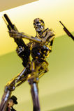 Figurina del terminatore Immagine Stock