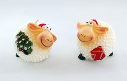 figurina delle pecore Immagini Stock Libere da Diritti