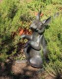 Figurina di Daniel Stowe Garden-Bunny Immagine Stock