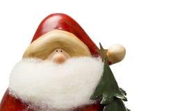 Figurina di Santa Fotografia Stock