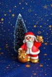 Figurina di Santa Claus Immagine Stock Libera da Diritti