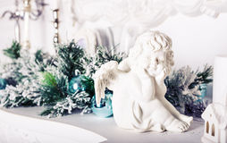 Figurine ангела рождества Стоковые Изображения