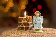Figurine ангела рождества Стоковое Фото