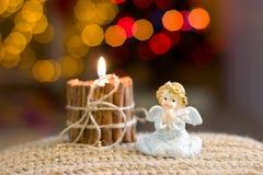 Figurine ангела рождества Стоковая Фотография RF