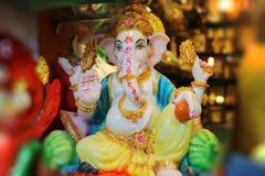 Figurine бога Ganesha индийско стоковые фото