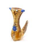figurine кота шаловливый Стоковая Фотография RF