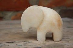 Figurine мраморного слона Стоковая Фотография