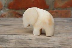 Figurine мраморного слона Стоковое Фото