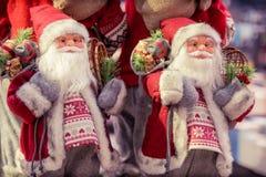 Figurine Санта Клауса Стоковое фото RF
