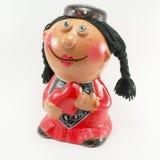 Figurine татарской женщины Стоковое Фото