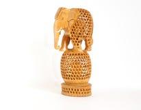 сувенир индейца figurine слона стоковое фото rf