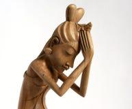 Традиционный индийский figurine сувенира девушки стоковые изображения rf
