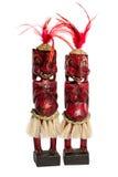 Figurine africane dei nativi Immagini Stock