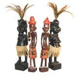 Figurine africano Fotografia Stock