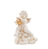 Figurine of the angel Stock Images