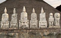 Figurine archeologiche del dio fotografia stock