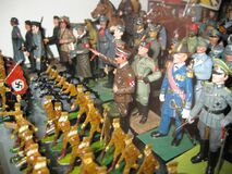figurine-army Royalty Free Stock Photography
