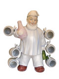 Figurine of the brewer Stock Image