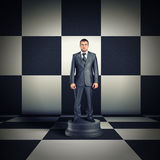 Figurine of businessman Royalty Free Stock Photos
