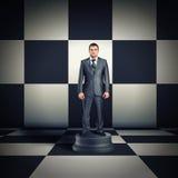 Figurine of businessman Royalty Free Stock Photos