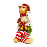 Figurine cat Royalty Free Stock Images