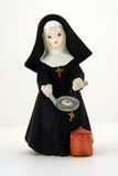 Figurine cattolico della suora Fotografia Stock