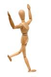 Figurine - celebração do vencedor fotos de stock royalty free