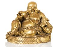 Figurine Cheerful Hotei Stock Photography