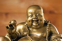 Free Figurine Cheerful Hotei Stock Photos - 18474573