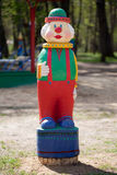 Figurine of a clown Royalty Free Stock Photo
