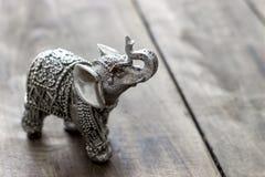 Figurine d'éléphant d'Asie Images libres de droits