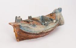 Figurine de bateau image libre de droits