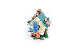 Figurine de Birdhouse Photos stock