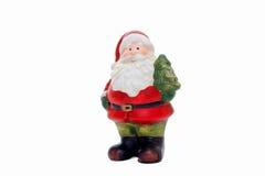 Figurine de Papai Noel Foto de Stock