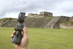 Figurine de Pré-hispanique image libre de droits