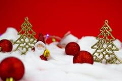 Figurine de Santa Claus Images libres de droits