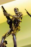 Figurine de terminateur Image stock