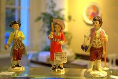 Figurine dei bambini di Gardner Fotografia Stock Libera da Diritti