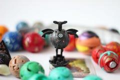 Figurine dei mostri del gioco di Bakugan immagine stock libera da diritti