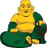 Figurine del Buddha illustrazione vettoriale